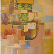 Contemporary Abstract Painting by Hosse