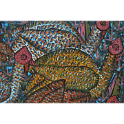 Sisson Blanchard (Haitian) Oil Painting c.1970