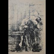 Luc-Albert Moreau (1882-1948) Lithograph c.1924
