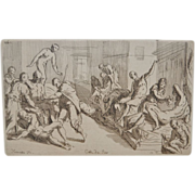 19th Century Old Master Etching