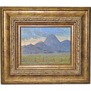 Sierra Buttes California Landscape Oil Painting by Dennis Westerling