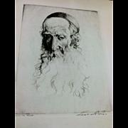 Lionel S. Reiss (1896 - 1986) Etching