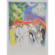 Ira Moskowitz (1912-2001) Color Lithograph c.1970's