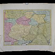 Moscovie Map 18th Century