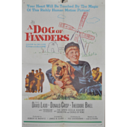 "Vintage Movie Poster ""A Dog of Flanders"" c.1959"