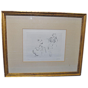 Jack Levine Lithograph - Signed / Numbered