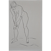 Fabulous Sixties Figural Nude Study by Hagedorn
