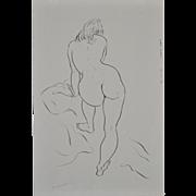 Vintage Figural Nude Study by Hagedorn c.1960's