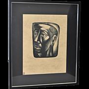 Charles White (1918-1979) Lithograph c.1946