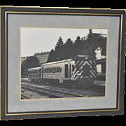 Ligonier Valley Railroad Vintage Framed Print c.1950