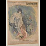 Art Deco San Francisco Examiner Full Color Page 1920