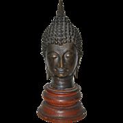 Thai Ayutthaya Bronze Buddha Sculpture