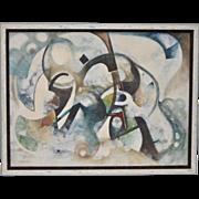 Vintage Abstract Vernon Wohnhas c.1960s
