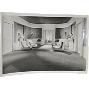 Clarence Bull MGM Studios B&W Photo 1930s