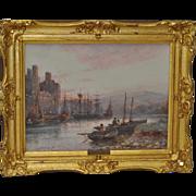 Stuart Lloyd (1875-1929) Watercolor c.1900