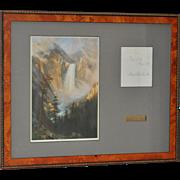 Albert Bierstadt Artist Signature c.1870s