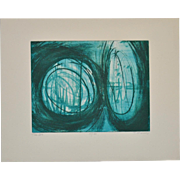 Terry Haas (1923-2016) Etching w/ Aquatint c.1960s