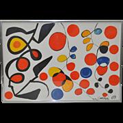 Alexander Calder (1898-1976) Vintage Lithograph c.1969