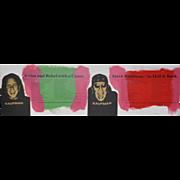Steve Kaufman (1960-2010) Silkscreen Print w/ Hand Painting