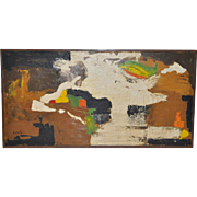 Carlo of Hollywood Vintage Abstract Painting c.1960s