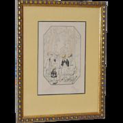 Early 20th Century Original Children's Illustration