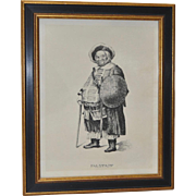 FALSTAFF Original Pen & Ink c.1902