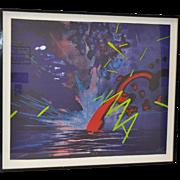 "Peter Alexander ""CASPAR"" Monoprint c.1984"