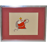 The Little King Original Cartoon Cell c.1960