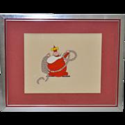 The Little King Original Cartoon Cell c.1960