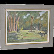Armand Cultrera Montaldo San Francisco Watercolor c.1963