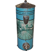 Painted & Decal Coffee Bean Dispenser c.1920s
