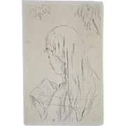 Pierre Bonnard Etching c.1930