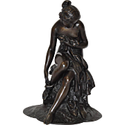 19th Century French Figurative Nude Bronze Sculpture