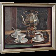 Peter van Boxel (1912-2001) Original Still Life Oil Painting