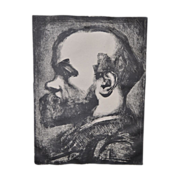 GEORGES ROUAULT Signed Etching of Paul VERLAINE c.1933 - Signed by Roualt