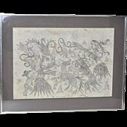 Mexican Master Pedro Diaz Original Shamanistic Art