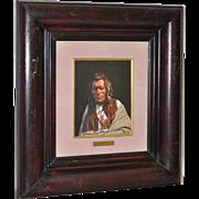 Thomas Lorimer (Arizona b.1941) Blackfoot Indian Oil Portrait
