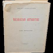 Nicaraguan Antiquities by Carl Bovallius c.1970