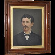 19th Century Oil Portrait
