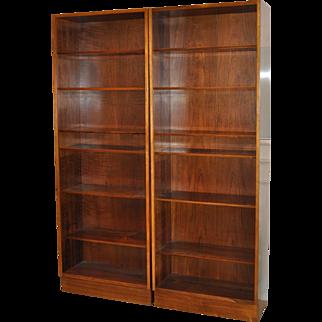 Poul Hundevad Vintage Rosewood Bookcases c.1960s