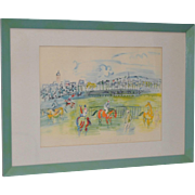 Raoul Dufy Offset Lithograph c.1950
