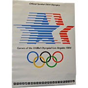 "1984 Olympics, Los Angeles ""Star in Motion"" Poster c.1983"