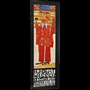 Friedensreich Hundertwasser Exhibition Poster c.1973 *Rare*