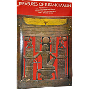 "Vintage ""Treasures of Tutankhamun"" San Francisco Exhibition Poster c.1979"