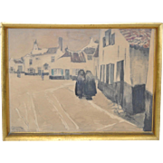European Village Painting c.1929