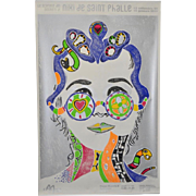 "Yann Legendre ""Niki de Saint Phalle"" Pencil Signed Poster c.2010"