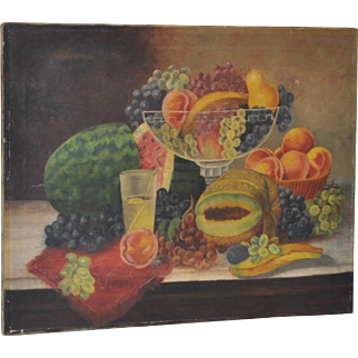 Late 19th Century Still Life Americana