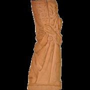 Bernard Zakheim (Polish American) Moses Terra Cotta Sculpture c.1953