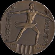International Exposition Chicago 1933 Art Deco Medallion