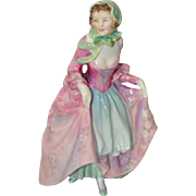 "Royal Doulton ""Suzette"" Porcelain Figurine c.1949"